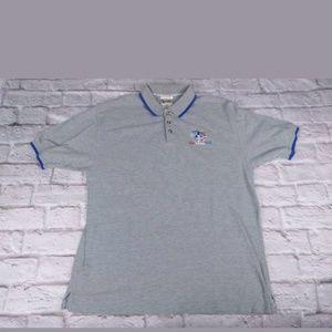Details about Nike Men's Vintage 90's Blue Short Sleeve Polo Shirt Blue Tag Size 3XLT (B13)